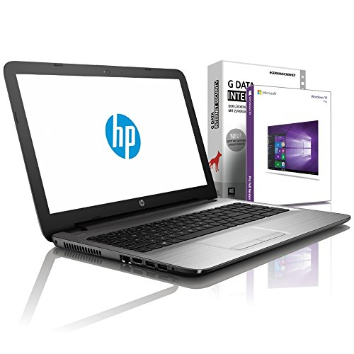 HP (15,6 Zoll) Notebook (AMD E2-9000e 2x2.00 GHz, 4GB DDR4, 500GB S-ATA HDD, DVD±RW, Radeon R2, HDMI, Webcam, Bluetooth, USB 3.0, WLAN, Windows 10 Prof. 64 Bit) #5579 ?