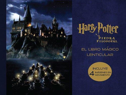 El libro mágico lenticular de Harry Potter y La piedra filosofal