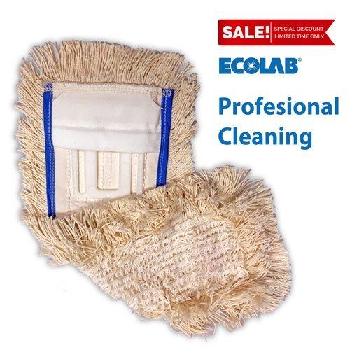 Ecolab Floordress Blizzard®-Bezug 40 cm mit Kunststofflasche