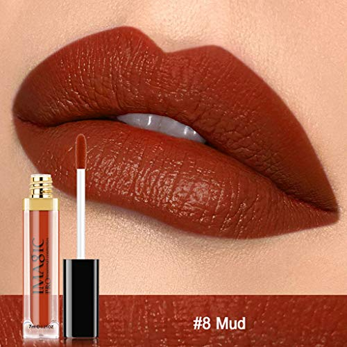 Rifuli® Liquid Lip gloss Moisturizer Velvet Metal Lipstick Cosmetic Beauty Makeup lippenstift