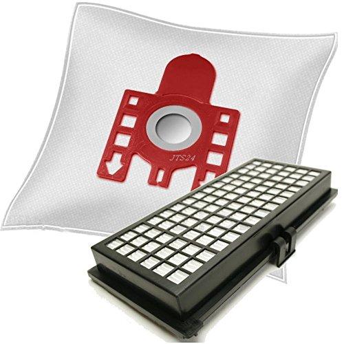 10 DeClean Staubsaugerbeutel + Hepa Filter geeignet Miele Parkett S371 381 711 SF-AH 30 SF-AH30