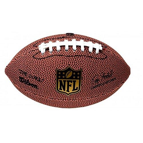 Wilson American Football, NFL Team Mini Micro, Freizeitspieler und Sammler, Gummi, F1637, Größe Mini, Braun