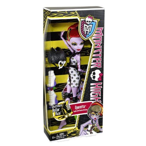 Monster High - X3674 - Skultimate Roller Blaze / Rollschuh-Clique - Operetta - mit gruseligem Outfit und Rollshuhen