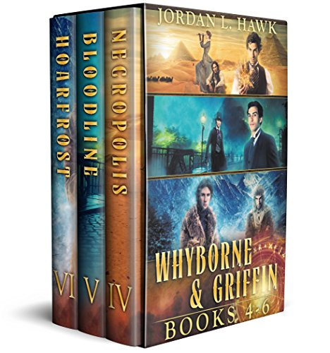 Whyborne and Griffin, Books 4-6: Necropolis, Bloodline, and Hoarfrost (The Whyborne & Griffin Series Box Sets Book 2) (English Edition)