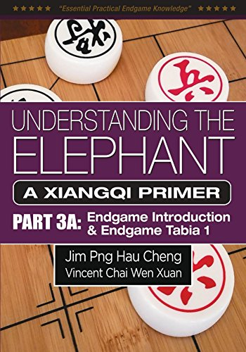 UNDERSTANDING THE ELEPHANT: A XIANGQI PRIMER PART 3A: ENDGAME INTRODUCTION & ENDGAME TABIA 1 (English Edition)