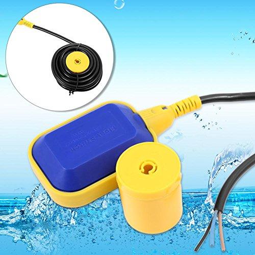 GOTOTOP 5M Kabel Schwimmerschalter Wasserstandsregler für Tankpumpe