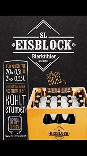 SL-EISBLOCK Flaschenkühler Bierkühler 0,5L