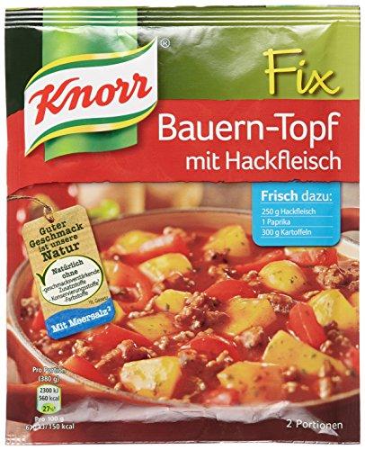 Knorr Fix Bauern-Topf mit Hackfleisch 2 Portionen