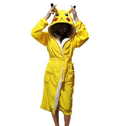 dcbbc84bde PANGZAI Unisex Tier Pyjama Robe Schlaf niedlichen Pyjama Einhorn Robe  Bademantel Winter Home Service Damen Roben