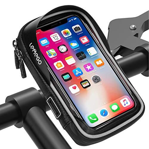 Fahrrad Tasche Rahmentasche Handy Oberrohrtasche Touch phone Halterung Bike Bag
